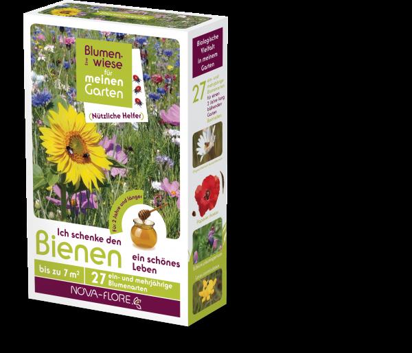 Blumensamen, nützliche Helfer, Bienen 7m²
