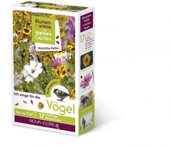 Blumensamen, nützliche Helfer, für Vögel 30 m²