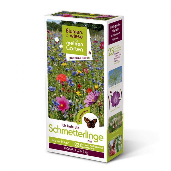 Blumensamen, nützliche Helfer, Schmetterlinge 30m²