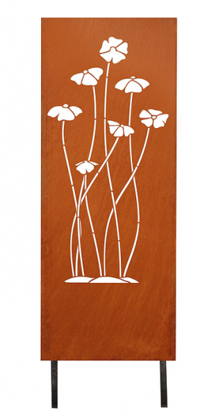 Sichtschutz Blüten