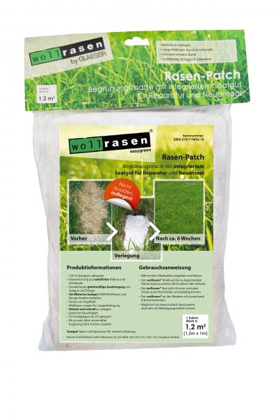 Wollrasen Rasen-Patch 1,2 m²