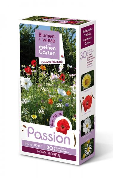 Blumensamen, Sommerblumen, Passion 30m²
