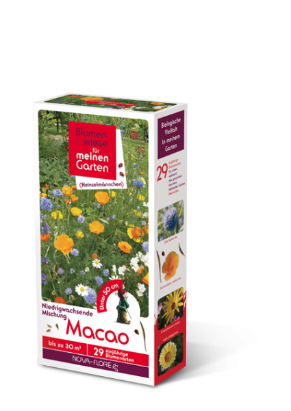 Blumensamen, Heinzelmännchen, Macao 30m²